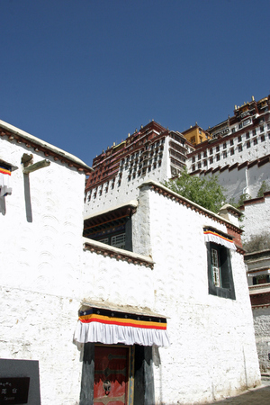 Potala palace in Tibet, China
