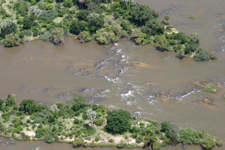 overwhelming: Zambezi river in Zambia and Zimbabwe, Africa