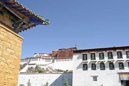people's cultural palace: Potala palace in Tibet, China