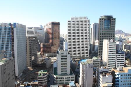 republic of korea: Cityscape of Seoul, Republic of Korea