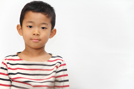 6 years: Smiling Japanese boy (6 years old)