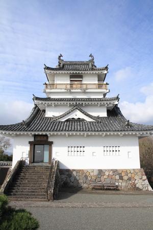 castle tower of Kitsuki castle in Oita, Japan