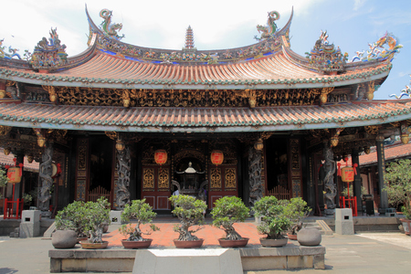 Dalongdong Paoan temple in Taipei, Taiwan