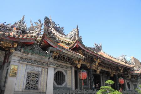 Longshan temple in Taipei, Taiwan