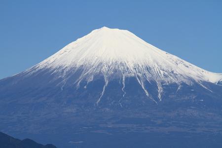 sacred source: Mt. Fuji, view from Mihono Matsubara in Shizuoka, Japan