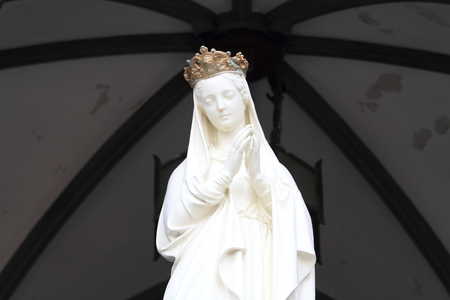 Mary image in Oura church, Nagasaki, Japan