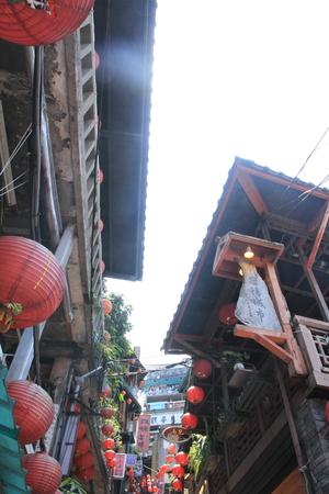 townscape of Jiufen, Taipei, Taiwan Reklamní fotografie
