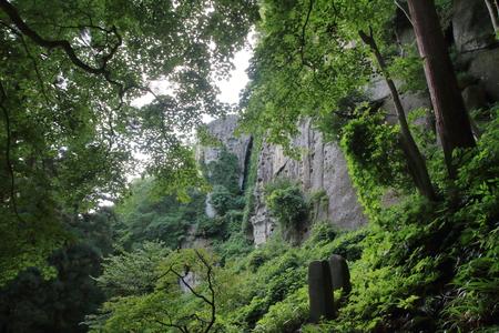 semiduka of Risshaku ji (Yamadera) in Yamagata, Japan Stok Fotoğraf - 83801546
