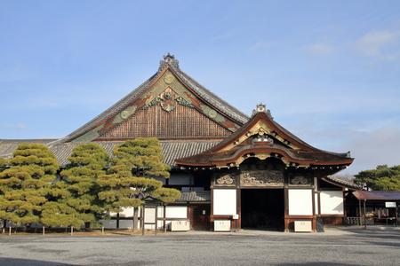 Ninomaru palace of Nijo castle in Kyoto, Japan