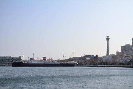Hikawa maru in Yokohama, Kanagawa, Japan