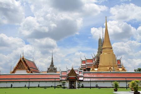 Wat Phra Kaew in Bangkok, Thailand 写真素材