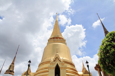 chedi at Wat Phra Kaew, Bangkok, Thailand