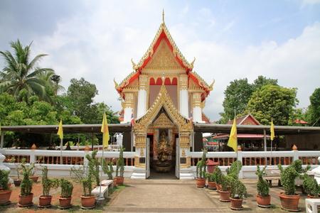 Wat Phai Lom in Koh Kret, Bangkok, Thailand