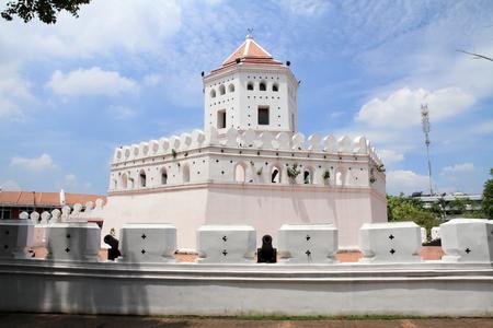 Phra Sumen fort in bangkok, Thailand
