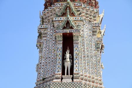 Wat Arun in Bangkok, Thailand 写真素材