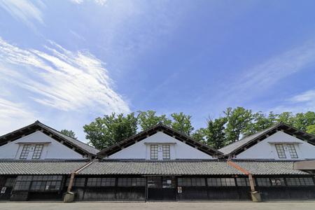Sankyo warehouse in Sakata, Yamagata, Japan 報道画像