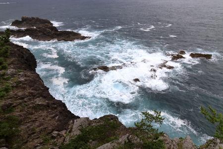 Goishi coast in Ofunato, Iwate, Japan 写真素材