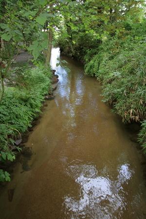 Kappabuchi pool in Tono, Iwate, Japan