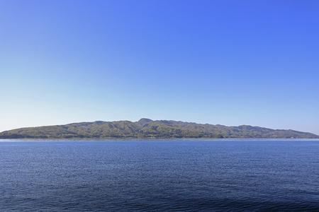 Sado island in Niigata, Japan Stock Photo - 124940285