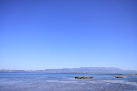 Sado island in Niigata, Japan Stock Photo - 124941889