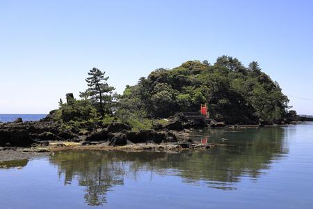 Yashima and Kyojima in Sado island, Niigata, Japan