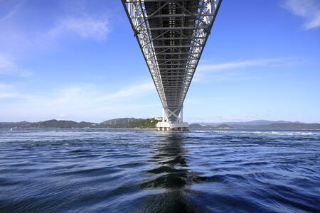 Onaruto bridge in Tokushima, Japan Foto de archivo - 129875735