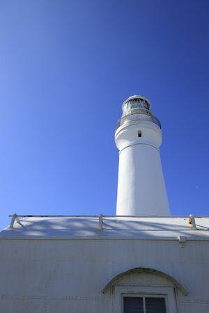 Inubosaki lighthouse and foghorn station in Choshi, Chiba, Japan