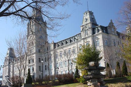 een parlement gebouw