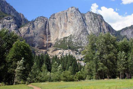 granite rock in Yosemite national park in California photo