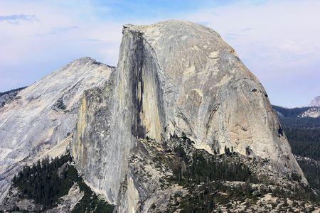 half dome rock in Yosemite National park in California