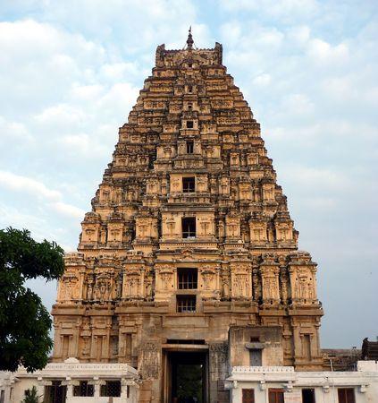 famous industries: Hampi temple, India Stock Photo