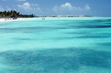 scenic ocean and coast panorama Stock Photo