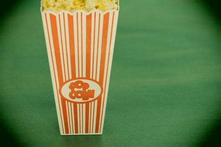 special effect: special effect for vintage pop corn bowl