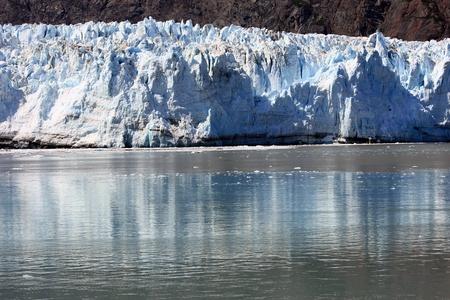 Glacier in Glacier Bay National Park, Alaska Stock Photo