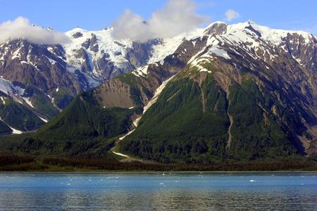 spectacular Yakutat Bay landscape in Alaska