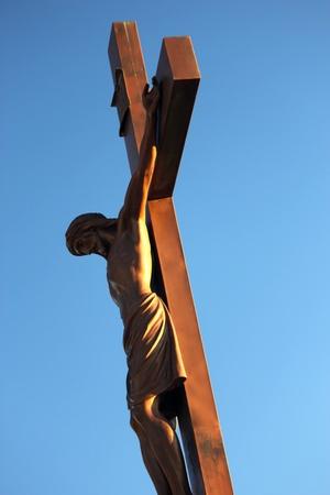 Jesus Christ on the cross photo
