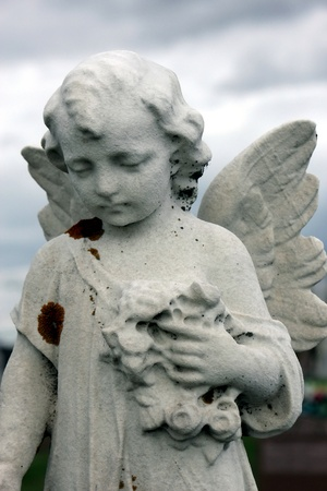 angel cemetery: guardian angel and heaven
