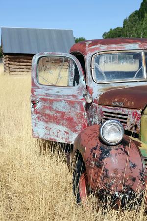 oxidado: Rusty Old Car