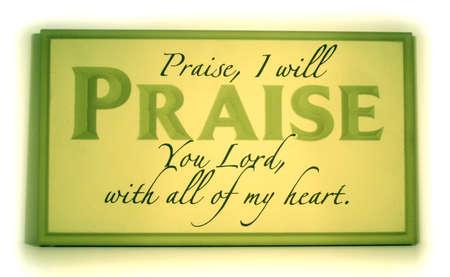 praising: Praise tablet