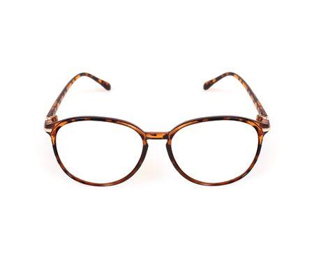 Glasses isolated on white background for applying on a portrait Reklamní fotografie