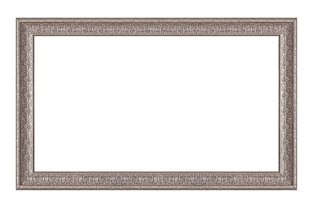 Panoramic silver frame for paintings