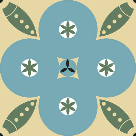 Seamless vector medieval pattern in gothic style