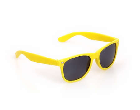 Sunglasses isolated on white background for applying on a portrait 免版税图像