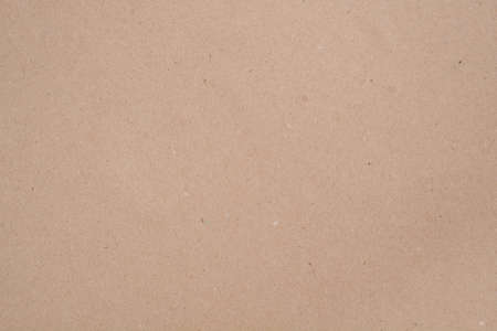 Kraft paper: Brown isolated background (blank mockup)