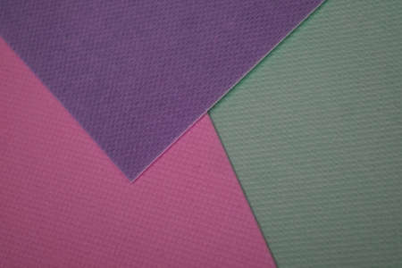 Background of isolated sheets of multi-colored paper