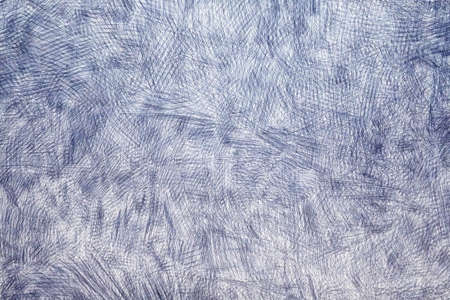 Abstract drawing with a ballpoint pen on paper