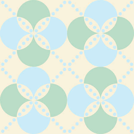 Classical rhombus diagonal regular seamless pattern for background Vettoriali