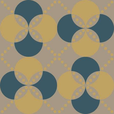 Classical rhombus diagonal regular seamless pattern for background 矢量图像