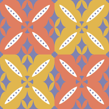 Mockup seamless pattern in the style of gothic