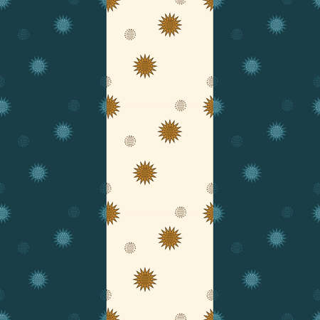 Seamless pattern with Christmas stars (New Year)
